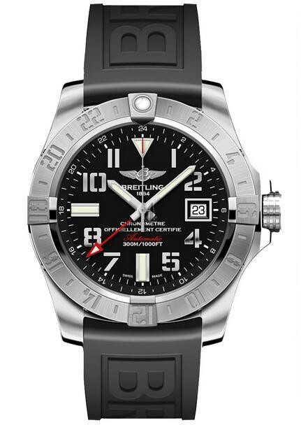 Breitling Avenger II GMT Mens Watch A3239011/BC34 153S  replica.