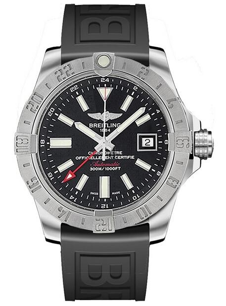 Breitling Avenger II GMT Mens Watch A3239011/BC35 153S  replica.