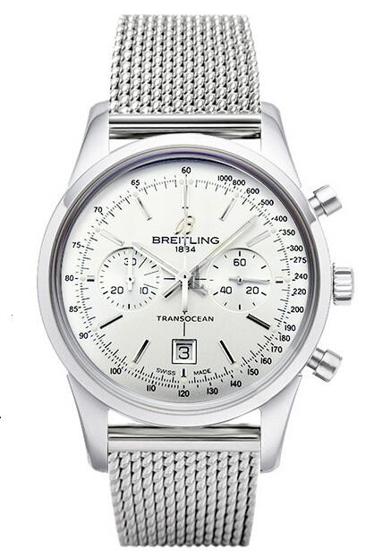Breitling Transocean Chronograph 38 Watch A4131012/G757 171A  replica.
