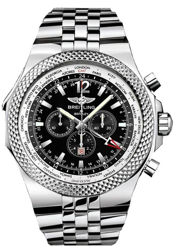 Breitling Bentley GMT Mens Watch A4736212/B919/998A  replica.