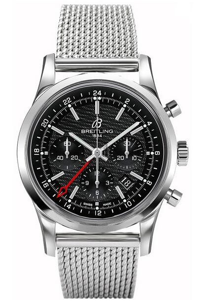 Breitling Transocean Chronograph GMT Watch AB045112/BC67 154A  replica.