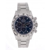 imitation Rolex Cosmograph Daytona Black Dial Stainless Steel Oyster Watch
