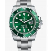 Fake Rolex Submariner Date Gree Dial 116610LV.