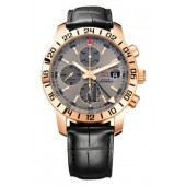 Imitation Chopard Mille Miglia Mens Rose Gold GMT Chronograph Watch