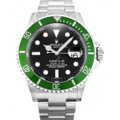 Fake Rolex Submariner 50th Anniversary Green Bezel 16610LV.
