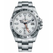 Fake Rolex Explorer II Stainless Steel White dial 216570 W.