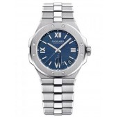 Replica Chopard Alpine Eagle 36mm Lucent Steel Blue Dial Watch