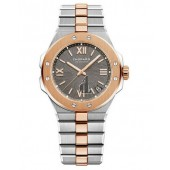 Replica Chopard Alpine Eagle 41mm Steel and Rose Gold Gray Dial Watch