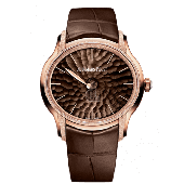 Replica Audemars Piguet Millenary Frosted Gold Philosophique Pink Gold/Brown 77266OR.GG.A823CR.01