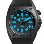 Bell & Ross Marine Automatic Blue 44 mm Mens Watch BR 02-92 BLUE fake