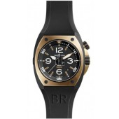 Bell & Ross Pink Gold & Carbon Mens Watch BR 02-92 PINK GOLD&CARBON fake
