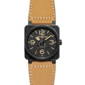 Heritage Bell & Ross Automatic 42mm Mens Watch BR 03-92 HERITAGE fake