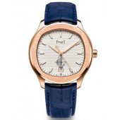 Piaget Polo S Automatic White Dial Men's 18kt Rose Gold Watch G0A43010 replica