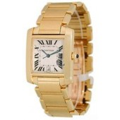 AAA quality Cartier Tank Francaise Mens Watch W50001R2 replica.