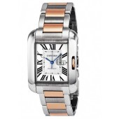 AAA quality Cartier Tank Anglaise Mens Watch W5310007 replica.