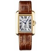 AAA quality Cartier Tank Anglaise Small Ladies Watch W5310028 replica.
