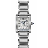 AAA quality Cartier Tank Francaise Ladies Watch WE110006 replica.