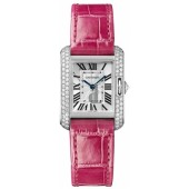 AAA quality Cartier Tank Anglaise Small Ladies Watch WT100015 replica.