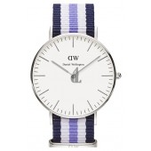 $85:Discounts Daniel Wellington Classic Trinity Round NATO Strap Watch 36mm
