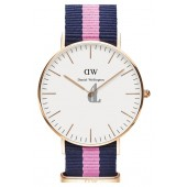 $85:Discounts Daniel Wellington Classic Winchester Round NATO Strap Watch 36mm