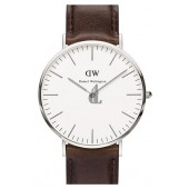 $89:Discounts Daniel Wellington Classic Bristol Leather Strap Watch 40mm