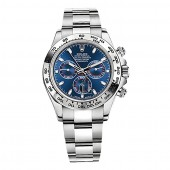 imitation Rolex Cosmograph Daytona 116509BLSO Black Dial Stainless Steel Oyster Watch RLX116509BLSO